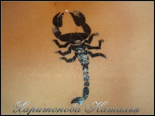 Бикини дизайн скорпион