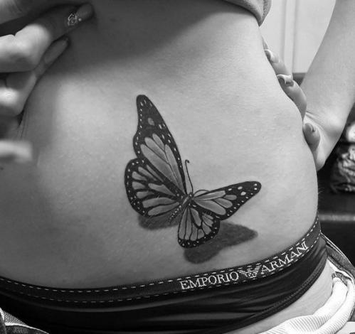 Одна бабочка