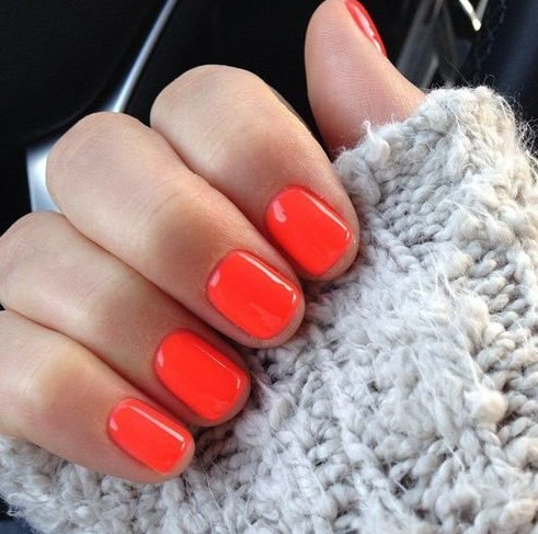 Оранжевый оттенок