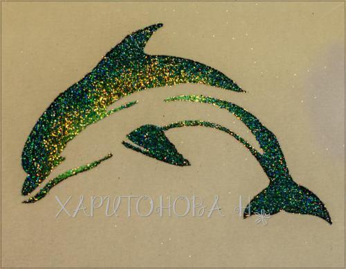 Бикини дизайн дельфин