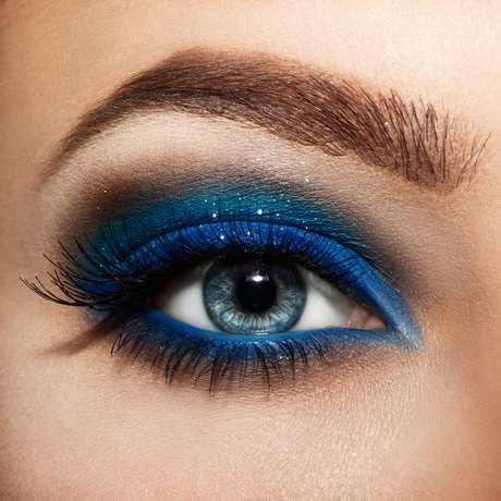 Макияж для бездонных голубых глаз