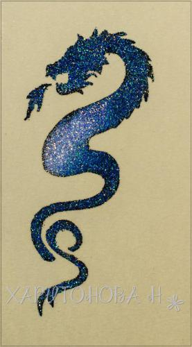Бикини дизайн Дракон