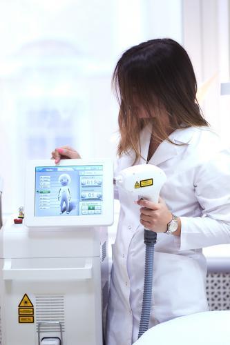 Настройки лазера MeDioStar Effect перед эпиляцией