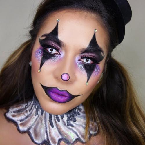 sexy-glam-clown look 021febc0c306c1fdf9d77a1518d8d017 look
